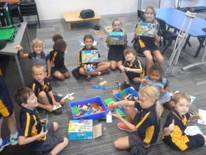 Thanks to all the community Earn and Learn donations, our students are thrilled with the new Lego!  Image supplied