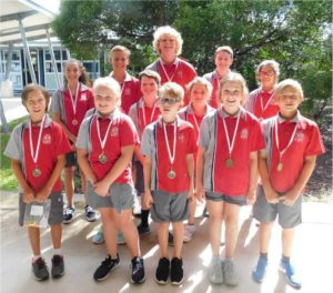Congratulations Tin Can Bay School Swimming Age Champions!