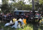 Victory College made a huge contribution when 83 people turned up for a wonderful (hot) afternoon of cleaning up our community at Inskip Point