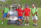 Cooroy golfers played Rex Williams, David Williams, Ross Mapleston, Jimmy Henderson