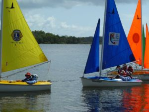 Sailability's new sails are out on the water