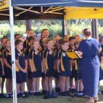 Once again the Rainbow Beach State School Choir impressed