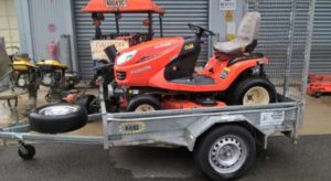 Stolen trailer and ride on mower, Tin Can Bay
