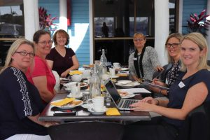 Council's SAGE Women event was held at Tin Can Bay Marina Bar and Grill last month - where attendees enjoyed a delicious cooked breakfast