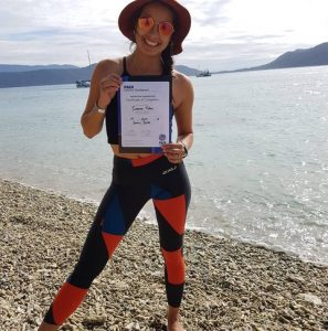 Ivanna Tobar recently completed training and is now a fully qualified dive instructor - congratulations Ivanna