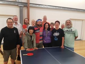 The inaugural Rainbow Beach table tennis competition was hotly contested over six weeks with team 'Escape' taking the champions trophy - the next round starts August 8!