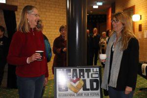Heart of Gold winter fundraiser - Elaine Ashworth and Selina Palmer