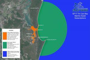 Tin Can Bay CoastGuard - Marine Assist sectors