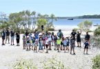 Tin Can Bay Fishing Club - Juniors ready to Fish at Norman Point