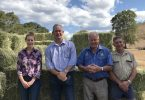 Stanley (Woolooga Hay Drive), GRC Mayor Mick Curran, Tom Grady, GRC Councillor Hilary Smerdon.