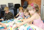 Get to the library for holiday fun like cousins Finn Wilson, Cora Ham, Sophie Wilson and Ava Ham who had a ball creating at the First 5 Forever session, Tin Can Bay Library