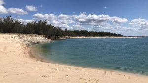 Inskip Point nearshore landslip - Image Brooke Bignall