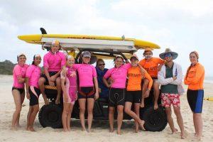 Rainbow Beach Surf Lifesaving Club Bronze medallion camp