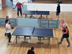 Table Tennis competition in full-swing