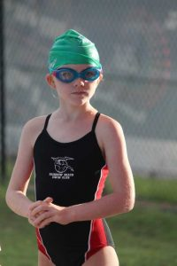 Chloe Daniels joined the Warriors Swim Club in 2012 and continues to shine