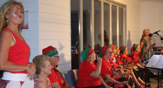 Remember, Rainbow Beach Carols will be back a the Good Shepherd Church this year, and there's new carols for Cooloola Cove