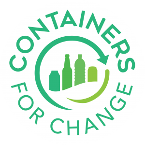 Containers For Change logo - recycle