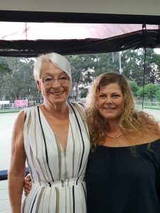 Sally and Jean, aka G-Ma and Grandma Jean volunteer their time to support many local school fundraisers and community events – thank you ladies!