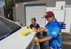 Car wash fundraiser helps Little Athletics