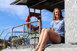 Emily Simpson is our newly qualified Dive instructor