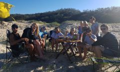 Boardriders camp out