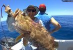 Sam with one of many great cod caught on Baitrunner