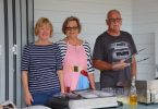 You'll find a feed on December 8 at the fair, thanks to volunteers like Peggy Phelan, Lynda and David Shaw