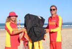 Local boys, Eric Lawton and Nicholas White, had a summer of fun, keeping our beaches safe