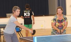 Denise and Sally had lots of fun last year with table tennis - Wednesday competitions have just started back after the break