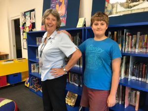 Thankfully for Aiden it is Library Lovers Day coming up, not Librarian Lovers Day! But we all send a big thank you to Jenny and all our coastal librarians, you do a great job!