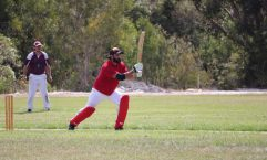 Mar Sterling bats against the Gympie Colts
