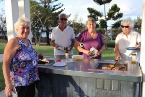 The Cooloola Coast Probus Club visited the Rainbow Beach Over 60s recently and plan more activities for their 11th year in operation