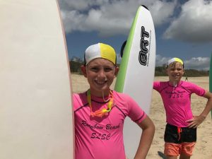 Lucas and Oliver get ready for boards