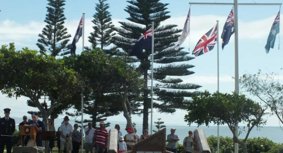 ANZAC Day is on April 25, you'll find services in Tin Can Bay and Rainbow Beach