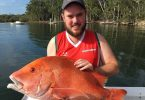 A PB red emperor for Mick