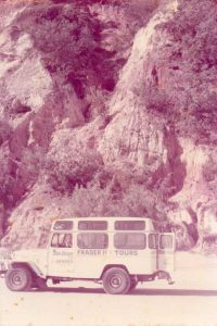 Ian Dean - Two in one tours – Fraser Island - 1980