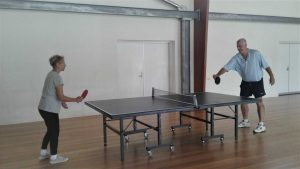 Table Tennis - Jack McColl and Jan Kemp
