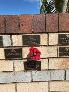 Tin Can Bay RSL - Pam Leslie commemorative plaque