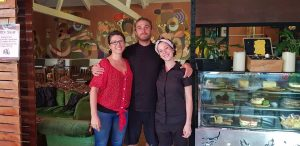 """Learn basic Italian and dine with the """"All Italians"""" at Arcobaleno on the Beach: Elisa Mele Seul, Paolo Sheshu and Alessia Castiglioni"""