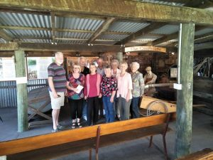 Over 60s tour the Hervey Bay Historical Museum