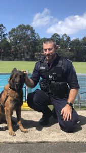 Senior Constable Liam Braunberger is the new police officer at Tin Can Bay, and he and his family will make Rainbow Beach their home