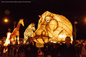 Gold Rush Parade - Lismore Lantern Parade 2015 - Photo Tree Faerie