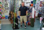 New owner Chris Rippon at The Chandlery Bait and Tackle