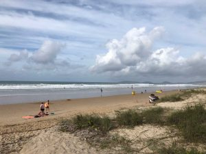 High tides and high waves mean high risk for beach drivers