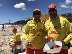 Greg Dodt and Shane Handy - where Christmas Day is just another day on patrol!