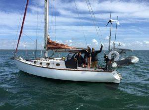 Tin Can Bay Coastguard - Grateful for a safe bar escort