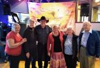 Probus - Photo: Left to right: Cherryl Mossman, Katrina van den Brenk, entertainer Graeme Jensen, Marie Parker, Jo Said and Arthur Leggo