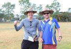 Rainbow Beach State School - Daniel Green PE Teacher and Dan Stanieg