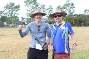 Rainbow Beach State School - Daniel Green PE Teacher and Dan Stanieg