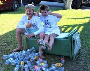 Kidpreneurs - Mason Bignell (twelve-years-old) and Jimmy Bergin (nine),